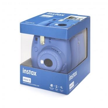 Pack Fuji Instax Mini 9 Azul Cobalto con funda y película
