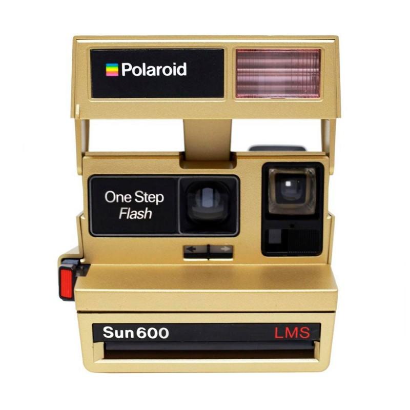 Comprar Cámara Polaroid 600 Edición Golden