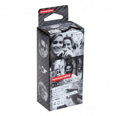 Película Blanco y Negro 400 ISO 35mm Pack de 3 de Lomography
