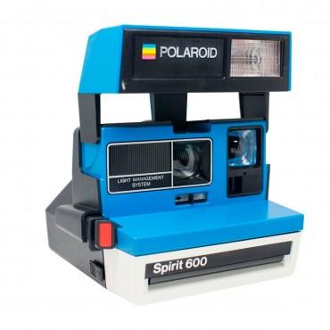 0cb8389692 Comprar Cámara Polaroid 600 Azul