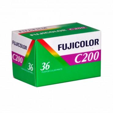 Comprar Película FujiColor C200 36exp 200 ISO de 35mm