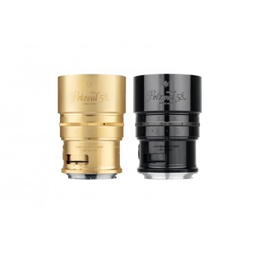 Lente Artística Petzval 58 con control de Bokeh - Montura Nikon F