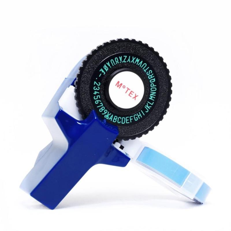 Etiquetadora Motex Azul tipo Dymo