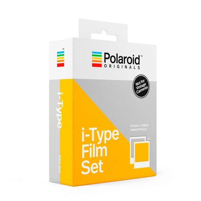 Pack doble Película Color/BN  I-Type de Polaroid Originals