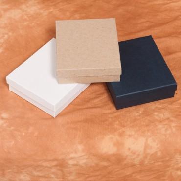 Caja de cartón y mini pinzas de colores para fotos Polaroid