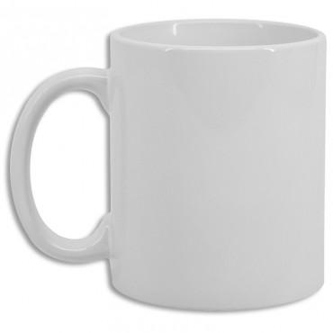 Taza blanca personalizable calidad premium