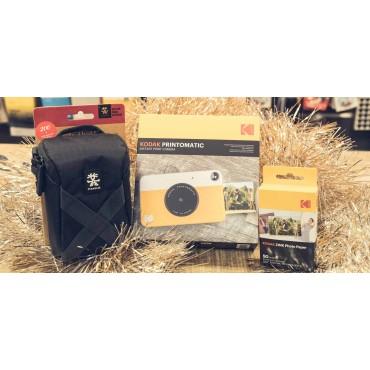 Pack Navidad Kodak Printomatic + 50 hojas + Estuche Crumpler Pouch 200