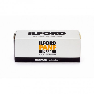Película Ilford PANF Plus 50 de 120mm