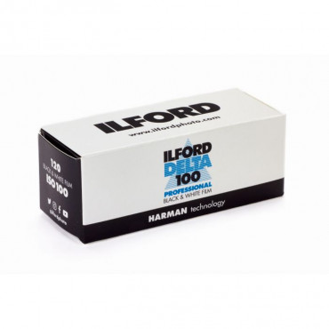 Película Ilford DELTA 100  de 120mm