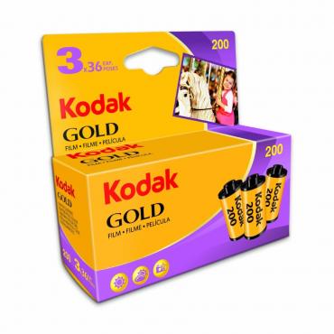 COMPRAR PACK PELÍCULA KODAK GOLD 200 36 EN STOCK