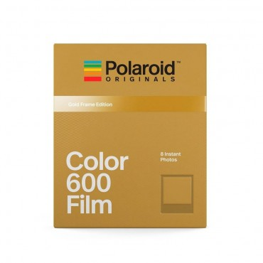 Comprar Película Color 600 Gold Frame de Polaroid Originals