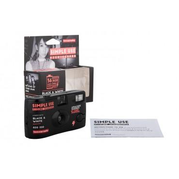 Cámara de un uso Blanco y Negro 400 ISO de Lomography