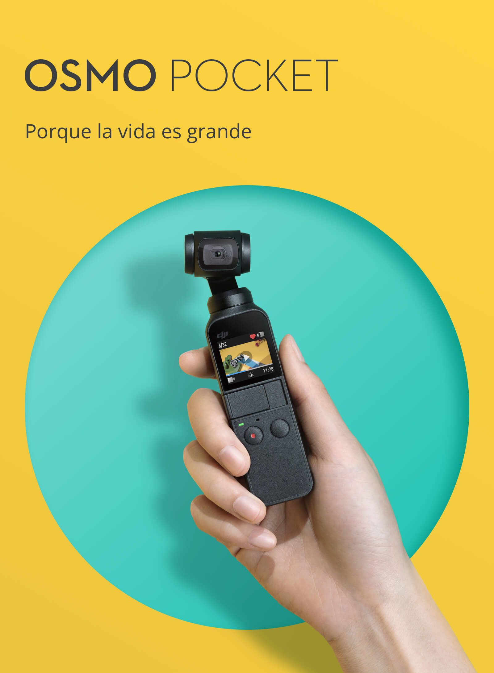 Osmo Pocket en Stock en Madrid